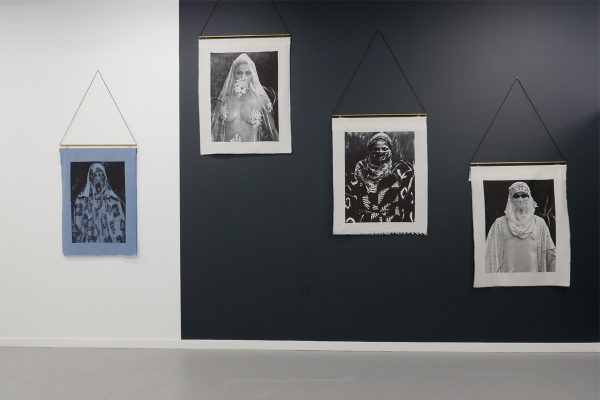 """View of the exhibition """"Harmattan Tales"""", Courtesy of Mariane Ibrahim Gallery"""